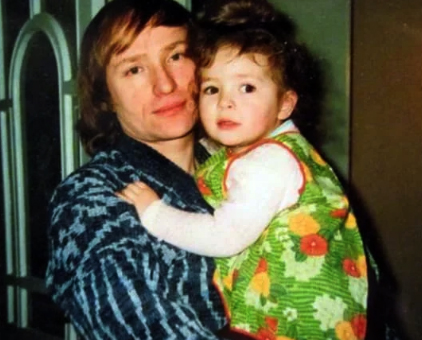 С дочерью Лианой