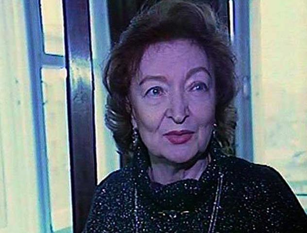 Лидия Вертинская в старости