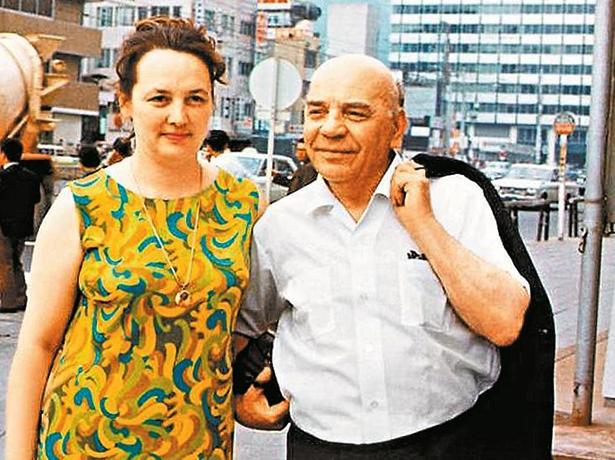 С третьей женой Натальей