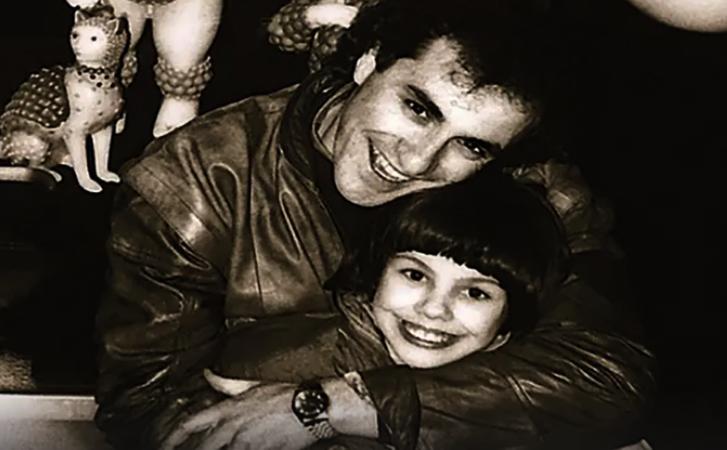 С дочерью Натальей