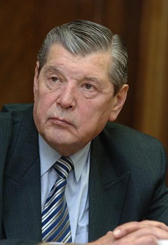 Юрий Чурбанов в старости