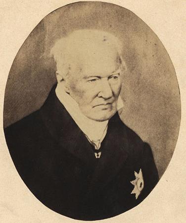 Александр фон Гумбольдт в последние годы жизни
