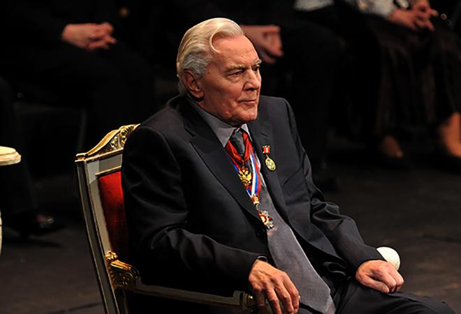 Виктор Коршунов в старости