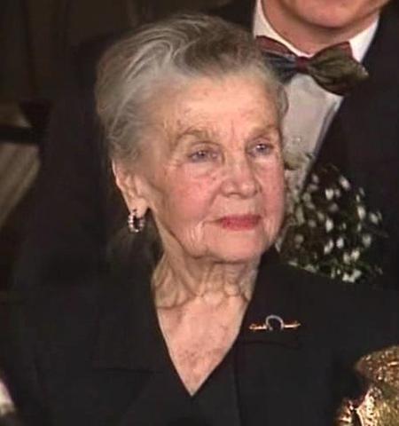 Тамара Макарова в старости