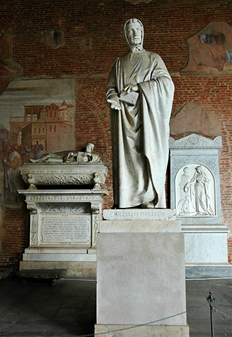 Памятник Леонардо Пизанскому