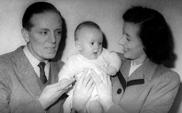 Крис Норман с родителями
