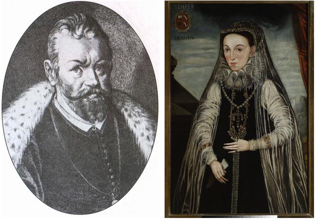 Родители — Юрий Мнишек и Ядвига Тарло-Мнишек