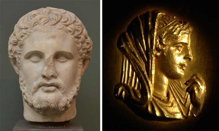 Родители — Филипп II и Олимпиада