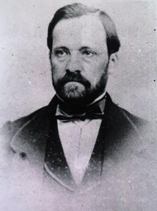 Луи Пастер в 1857 г.