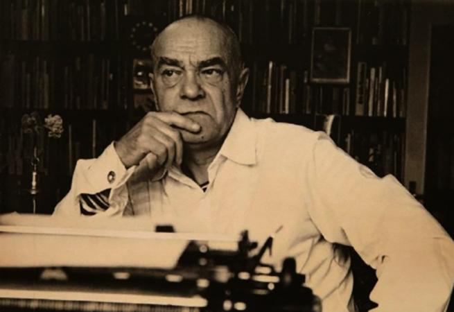 Писатель Валентин Пикуль