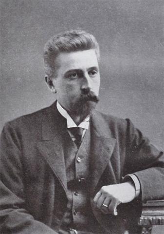 Писатель Николай Телешов