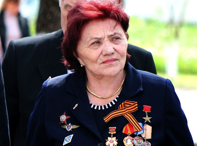 Марина Попович в старости