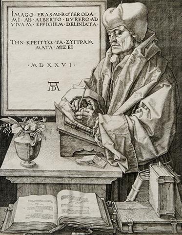 Портрет работы Альбрехта Дюрера (1526 г.)