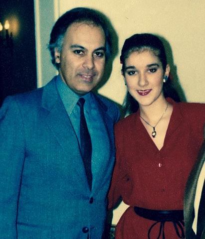 С Рене Анжелилом в молодости
