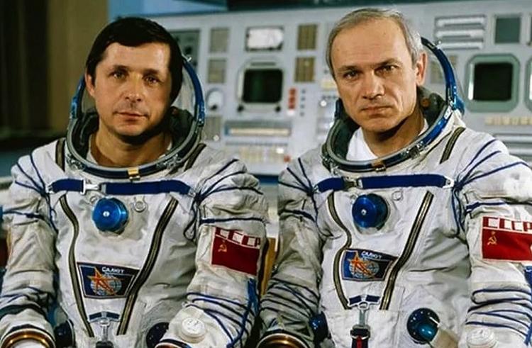 Виктор Савиных и Владимир Джанибеков