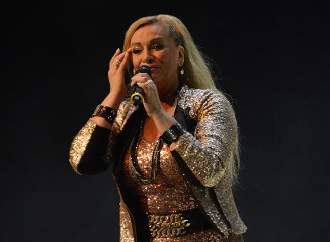 Наталья Гулькина на сцене
