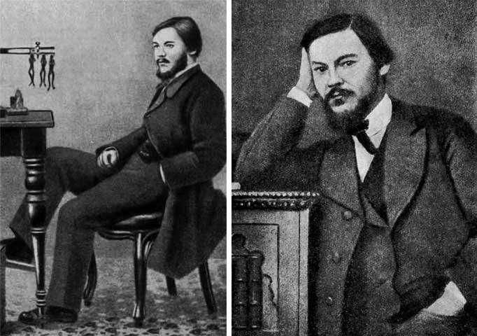 Иван Сеченов в молодости