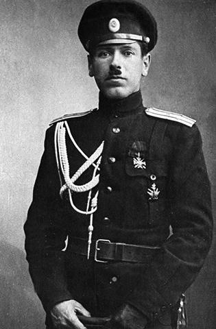 Борис Шапошников в 1915 г.