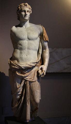 Статуя Александра в Стамбульском археологическом музее