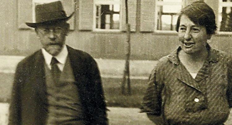 Януш Корчак и Стефания Вильчинска