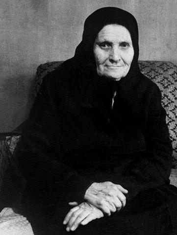 Татьяна Федоровна в старости