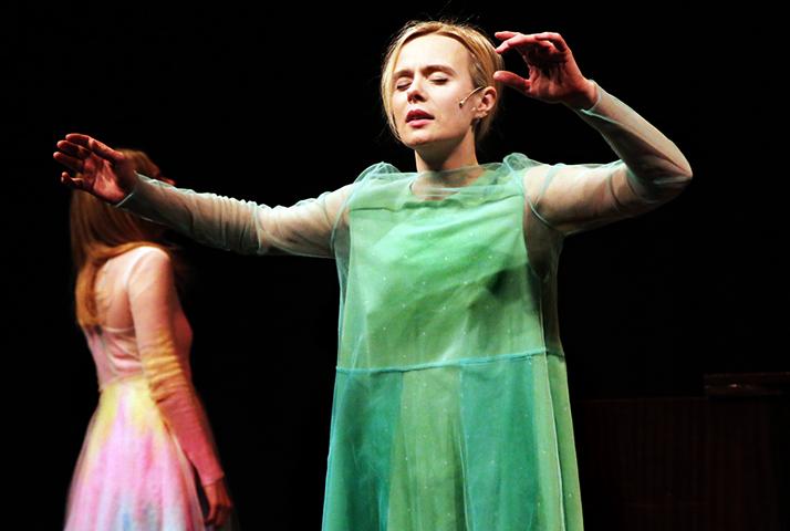 Алла Юганова в театре