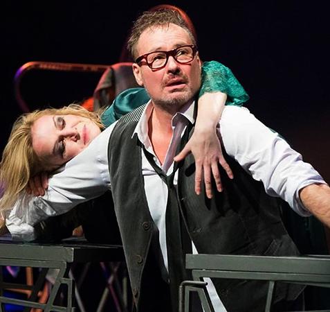 Александр Песков в театре