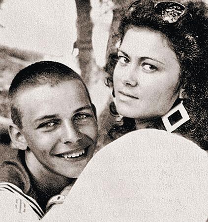 Илья Лагутенко и Елена Тройновская