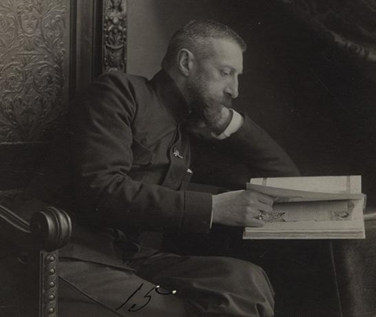 Константин Романов за творчеством