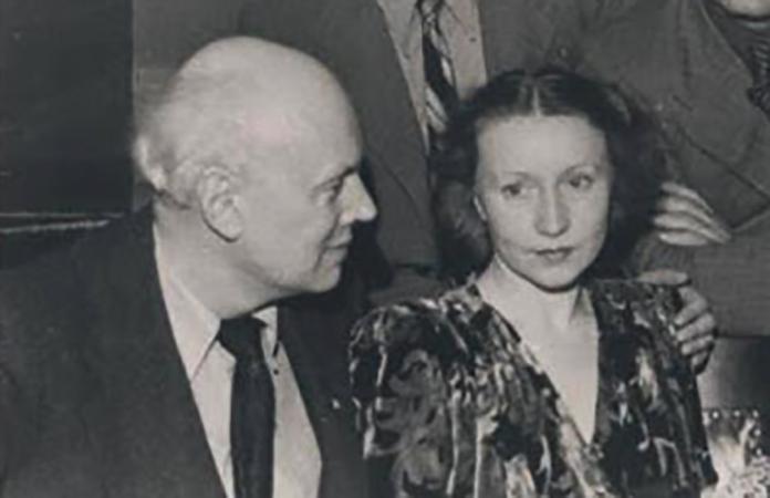 Юрий Завадский и Галина Уланова