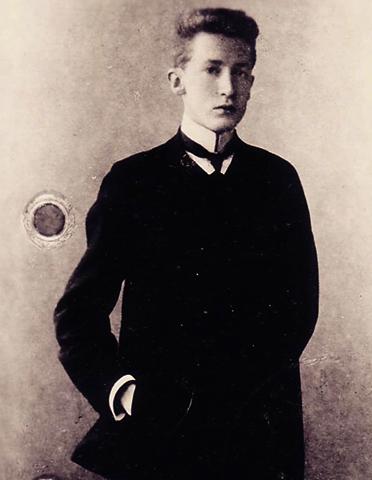 Сергей Боткин в юности