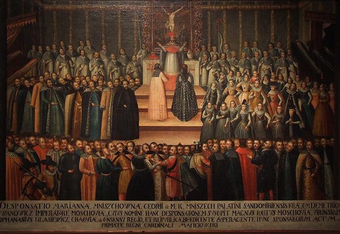 Венчание Марины и Димитрия в Кракове (1605)