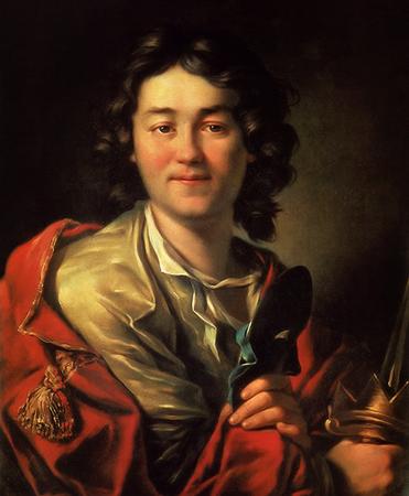 Портрет Ф. Волкова. Худ. А. П. Лосенко (1763)