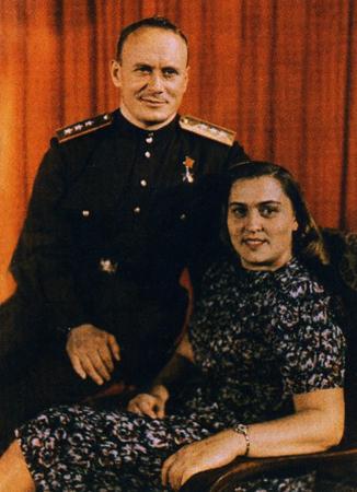 С женой Верой