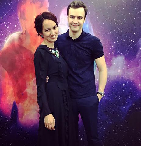 С женой Эльвирой