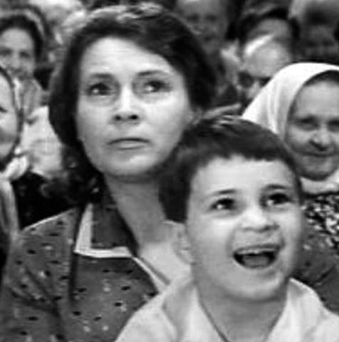 Вторая жена Любовь с сыном Николаем