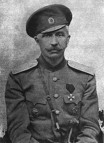 Петр Краснов в молодости
