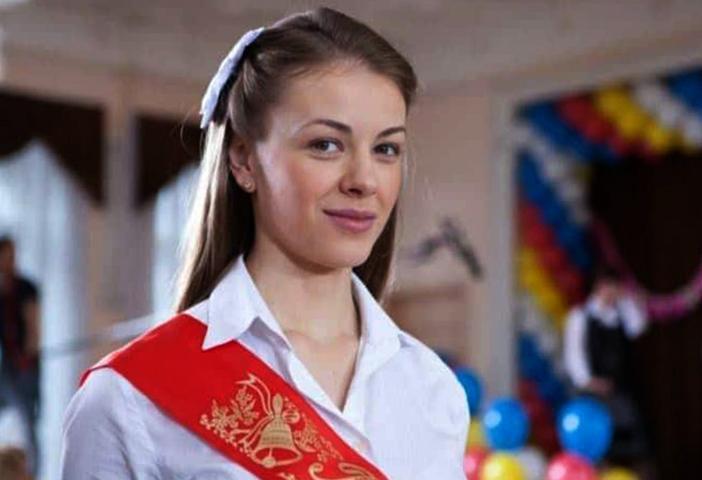 Олеся Фаттахова в молодости