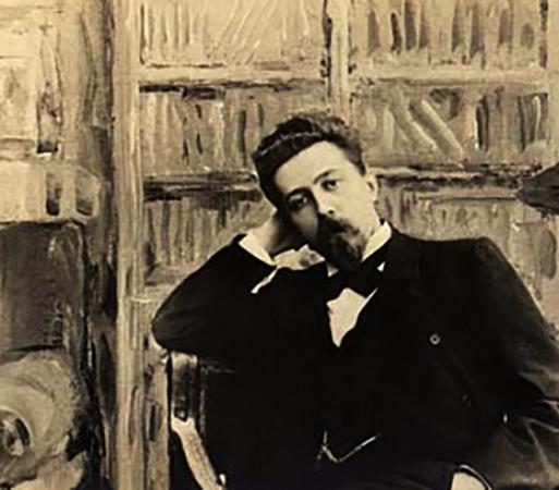 Николай Телешов в молодости