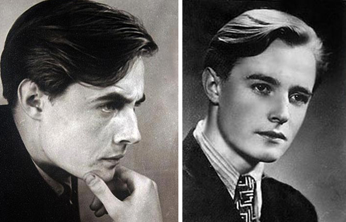 Эдуард Марцевич в молодости