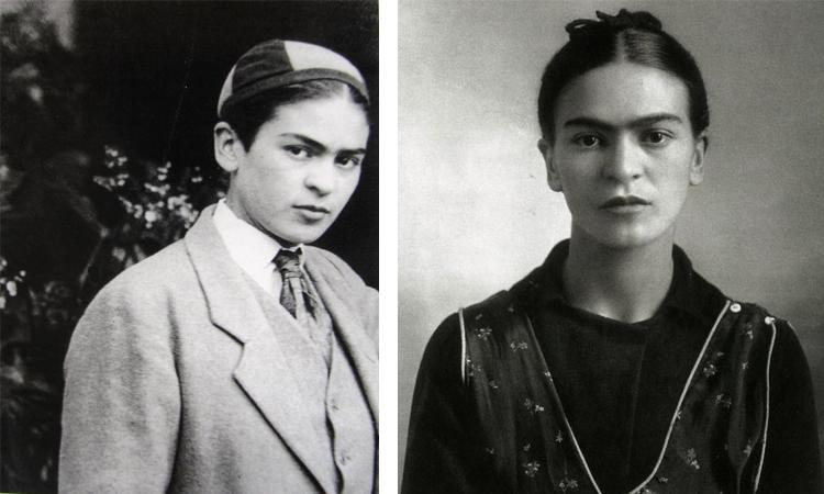 Фрида Кало в молодости