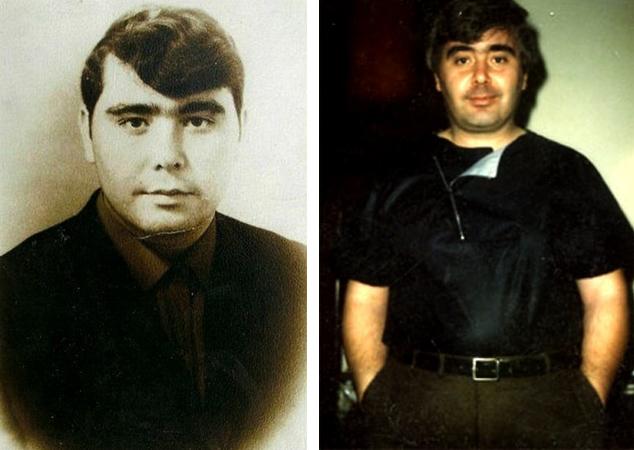 Анатолий Днепров в молодости