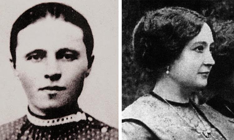 Татьяна Федоровна в молодости
