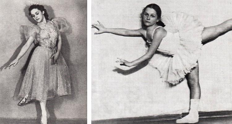 Ольга Лепешинская в молодости