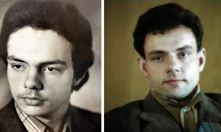 Александр Мохов в молодости