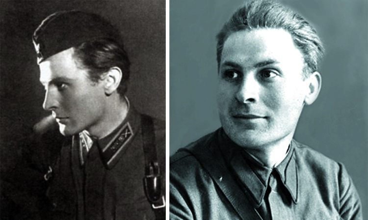 Алексей Фатьянов в молодости