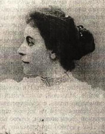 Лидия Федоровна в молодости