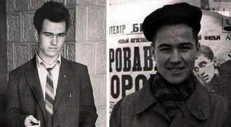 Евгений Дога в молодости