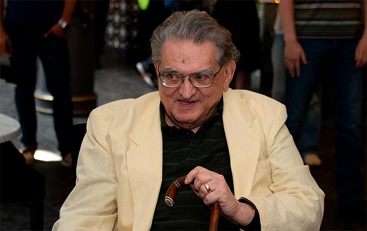Писатель Леонид Зорин