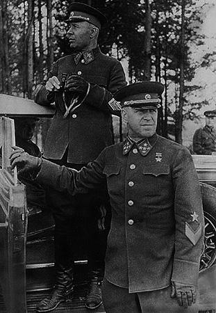 С. К. Тимошенко и Г. К. Жуков (1940)
